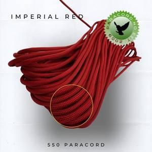 Bilde av Imperial Red 550 Paracord