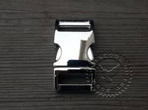 Metallspenne 17mm Chrome
